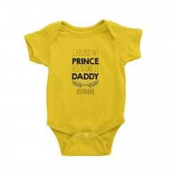 Babywears.my I Found My Prince His Name is Daddy Addname T-Shirt Personalizable Designs