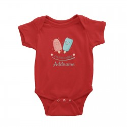 Babywears.my Cute Ice Creams I Am Just Chilling Addname T-Shirt Personalizable Designs