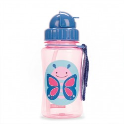 Skip Hop Zoo Straw Bottle Butterfly 12oz/350ml