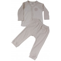 Bebeganic Baby Long Sleeve Body Suit Set 3