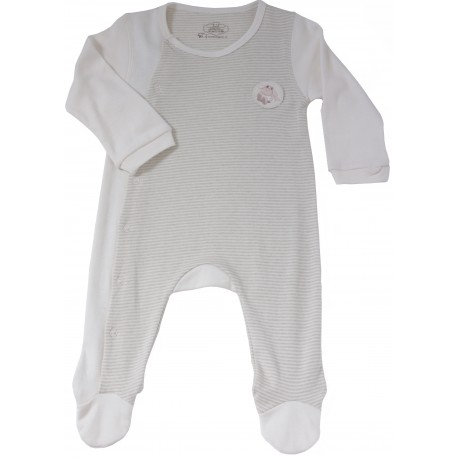 Bebeganic Baby Long Sleeve Body Suit Set  5