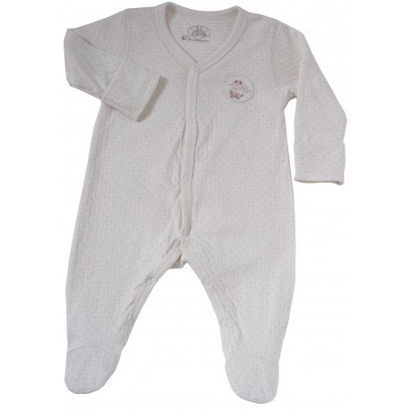 Bebeganic Baby Long Sleeve Romper Set 4