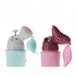 BabeSteps Baby Portable Urinal Travel Toilet (Girl)