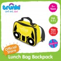 Trunki 2-in-1 Lunch Bag Backpack - 3.5 Litres (Yellow)