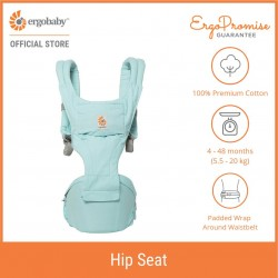 Ergobaby Hip Seat Six Position Baby Carriers (Island Blue)