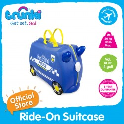 Trunki Ride-On Suitcase (Percy)