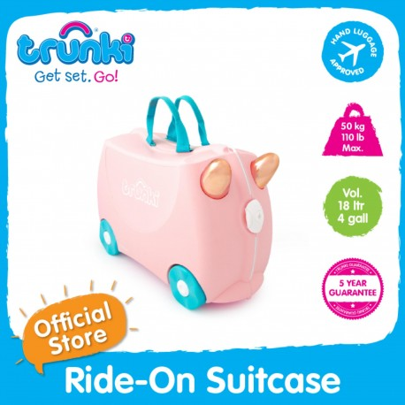 Trunki Ride-On Suitcase (Flossi)