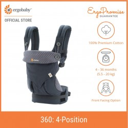 Ergobaby 360 All Positions Baby Carrier (Dusty Blue)