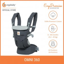 Ergobaby Omni 360 Baby Carrier All-in-One (Starry Sky)