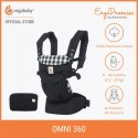 Ergobaby Omni 360 Baby Carrier All-in-One (Gingham)