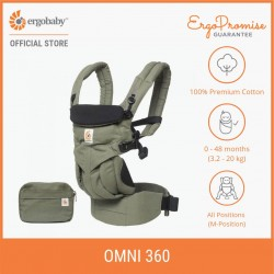 Ergobaby Omni 360 Baby Carrier All-in-One (Khaki Green)