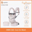 Ergobaby Omni 360 Baby Carrier - All-in-One Cool Air Mesh (Maui)