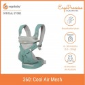 Ergobaby 360 All Positions Baby Carrier - Cool Air Mesh (Icy Mint)