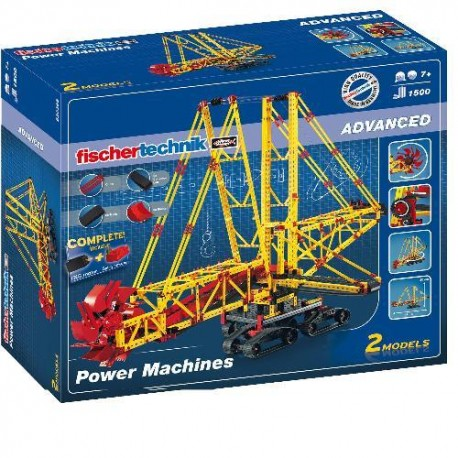 FischerTechnik Power Machines-Blue
