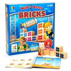 Smart Games Bill & Betty Bricks
