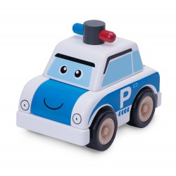 Wonder World Build A Police Car