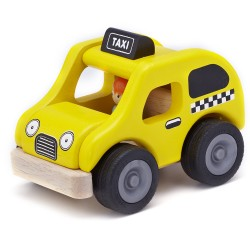 Wonder World Mini Yellow Cab