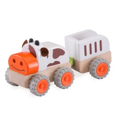 Wonder World Moo Moo Tractor