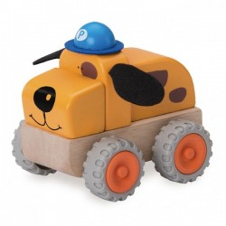 Wonder World Police Dog Car