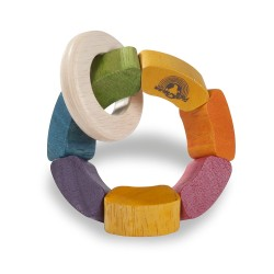 Wonder World Rainbow Rattle