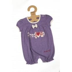 Budding Baby Anti-Mosquito Apparel Romper Girl - Purple