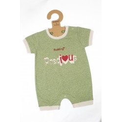 Budding Baby Anti Mosquito Apparel Romper Boy - Green