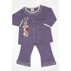 Budding Baby Anti-Mosquito Apparel Long Sleeve & Long Pant Girl - Purple