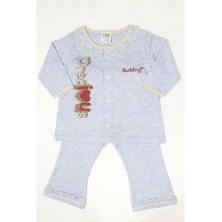 Budding Baby  Anti-Mosquito Apparel Long Sleeve & Long Pant Girl - Blue