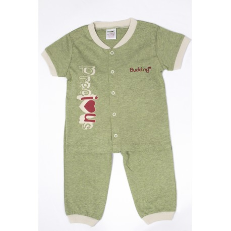 NOMOS Anti-Mosquito Apparel Short Sleeve & Long Pant Boy - Green