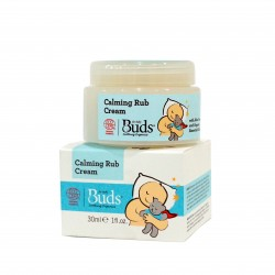 Buds Soothing Organics Calming Rub Cream 30ml