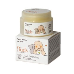 Buds Cherished Organics Pukka Pucker Lip Balm 15ml