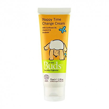 Buds Certified Organic Nappy Time Change 75ml