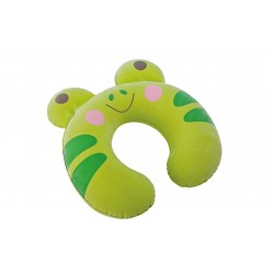 Intex Inflatable Children Travel Pillow Frog Green