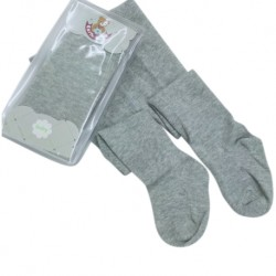 Earth Bebe Baby Leggings with Feet - Grey (EB-T09002)