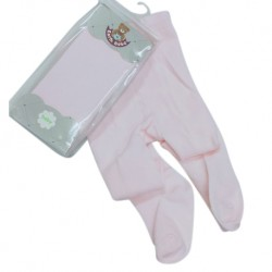 Earth Bebe Baby Leggings with Feet - Pink (EB-T09003)