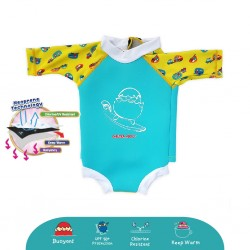 'Cheekaaboo Snugbabes Thermal Swimsuit - Camper Van (Summer Paradise)'
