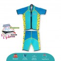 Cheekaaboo Twinwets Thermal Swimsuit - Camper Van (Summer Paradise)