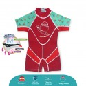 Cheekaaboo Kiddies Suit Thermal Swimsuit - Toucan (Summer Paradise)