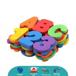 'Cheekaaboo Bath Letters  and  Numbers'