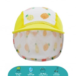 Cheekaaboo Legionnaire Hat (Pineapple) - Summer Paradise