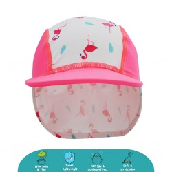 Cheekaaboo Legionnaire Hat (Flamingo) - Summer Paradise