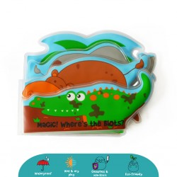 'Cheekaaboo Colour Changing Bath Book (Crocodile)'