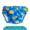 Cheekaaboo Swim Diaper (Navy Blue / Stingray)