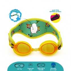 Cheekaaboo [Summer Paradise] Kids / Children Booggles - Untangleable Goggles - Toucan (Summer Paradise)