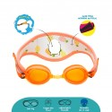 Cheekaaboo [Summer Paradise] Kids / Children Booggles - Untangleable Goggles - Pineapple (Summer Paradise)