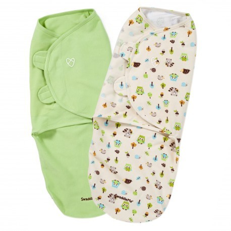 Summer Infant Swaddle 2pcs (Wooland Friends)