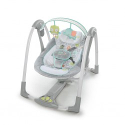 Bright Starts ING Swing 'n Go Portable Swing (Hugs And Hoots)