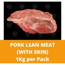 CN Frozen Pork Lean Meat (With Skin) (Sold Per Kg) CN Frozen Frozen Meat Non Halal Pork Fillet