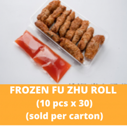 CN Frozen Fu Zhu Roll (Sweet and Sour Sauce) 30 Packs per Carton