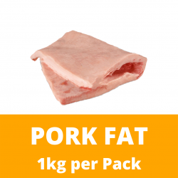 CN Frozen Pork Fat (Sold per Kg)